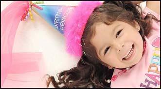 Cobertura Fotográfica  para aniversário infantil.